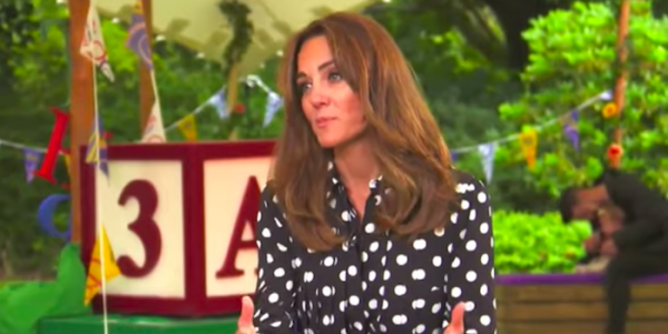 Kate backs BBC's Tiny Happy People