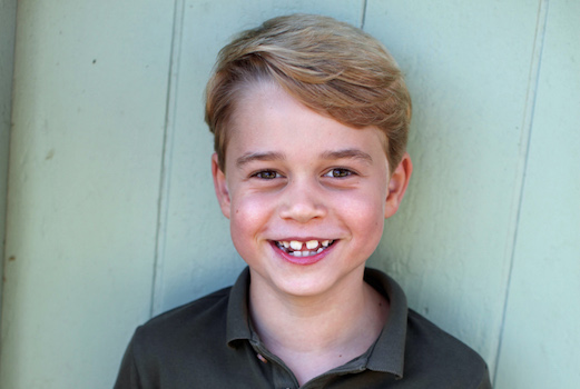 Prince George turns 7