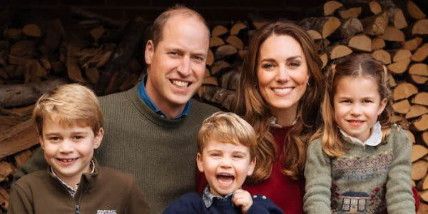 William & Kate release 2020 Christmas photo with their kids