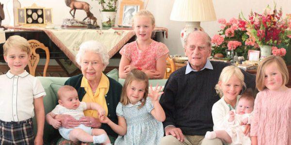 New photos released of The Duke of Edinburgh with Cambridge family